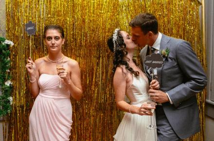 single-op-bruiloft