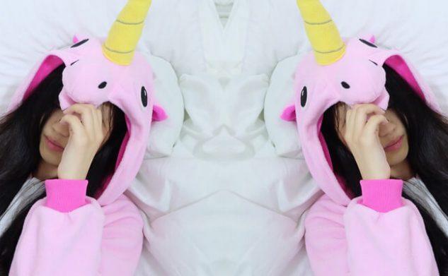 Oh so horny: de unicorn dildo