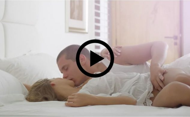 Porna: pas getrouwd stel heeft intense sex
