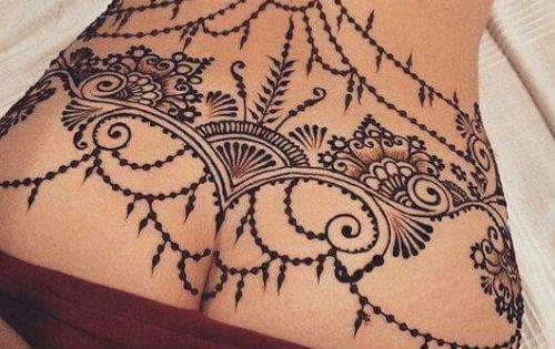 sexy plekken tattoo