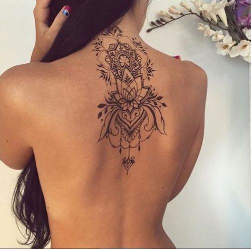 sexy plekken tatoeages rug