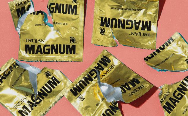 Op deze plekken kun je condooms beter niet bewaren
