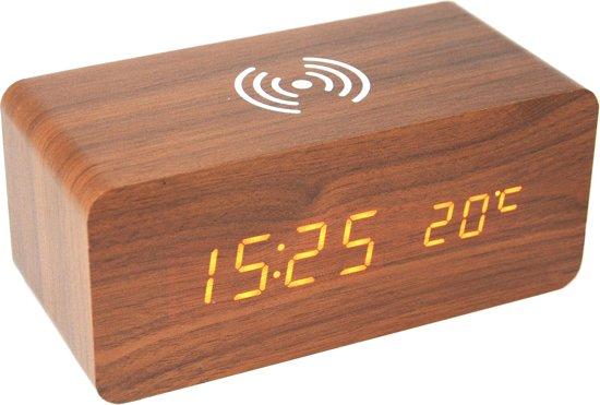 houten wekker